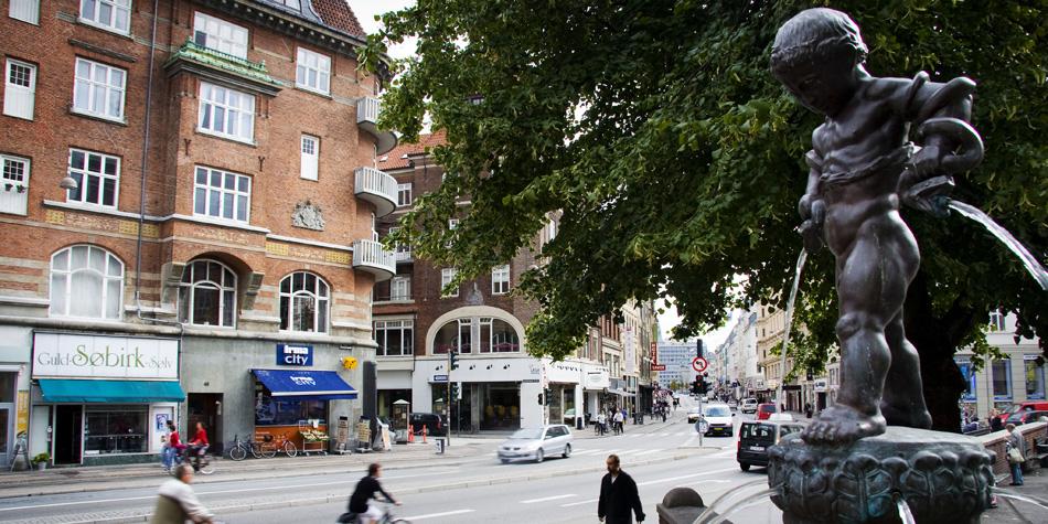 Vesterbrogade v Vesterbro Torv