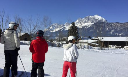 St Johann in Tirol has pretty much everything for family winter fun