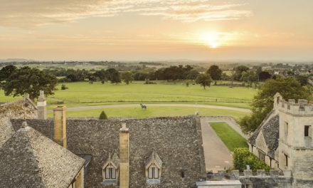 Romance in the air at Ellenborough Park